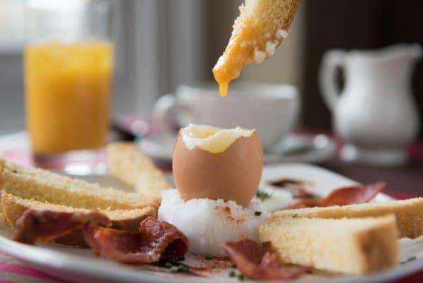 Eggs at New Steine Bistro Brighton