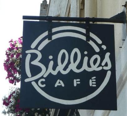 Billie S Cafe Brighton Co Menu