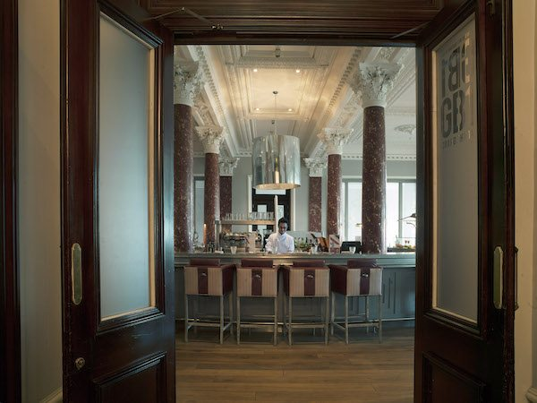 GB1 Restaurant, Grand Hotel, Fish, Seafood, Oysters, seafront