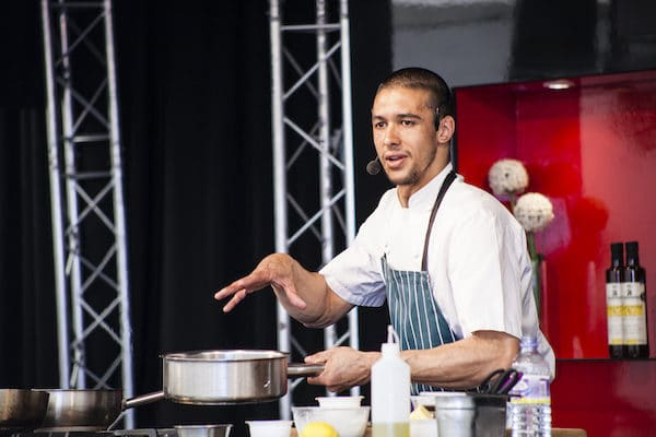 Matt Gillain at The Brighton Foodies Festival