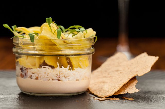 Pate and cracker at The Curlew restaurant, Best Restaurants in Sussex
