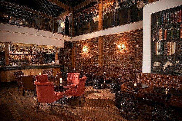 Lounge area at Hotel Du Vin Brighton