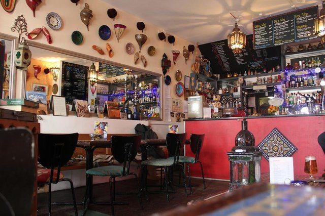 Blue Man, North African restaurant, Brighton