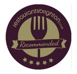 Restaurants Brighton Badge