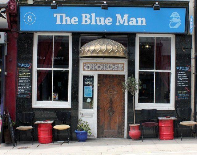 The Blue Man Brighton