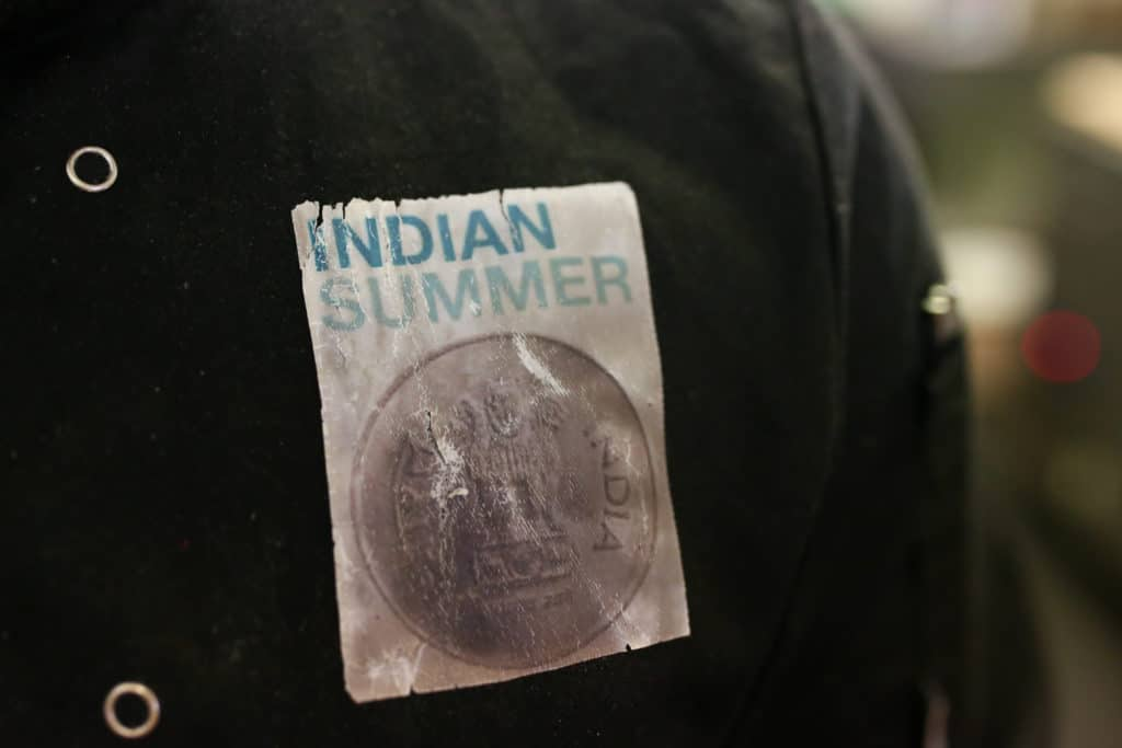 Indian Summer Brighton Badge