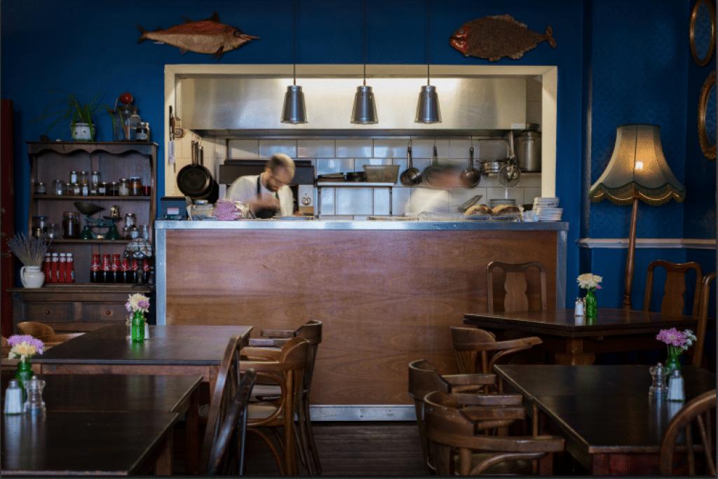 Chefs at work at the Chimney House Restaurants Brighton