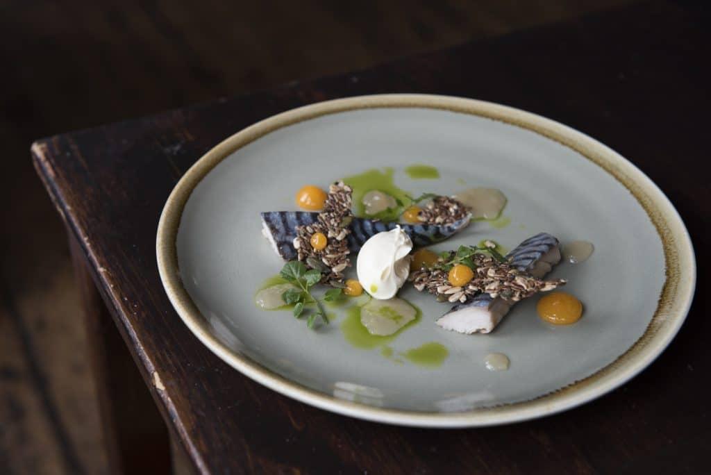 Light lunch dish at The Chimney House Restaurants Brighton