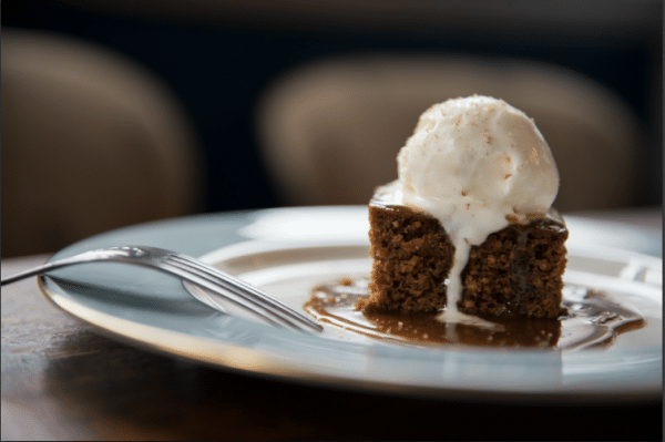 Sticky Toffee Pud at The Chimney House Restaurants Brighton