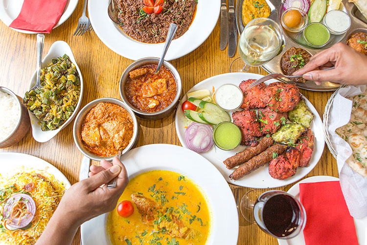 Chaula's Lewes, Indian sharing food and drink, gluten free restaurants Brighton,