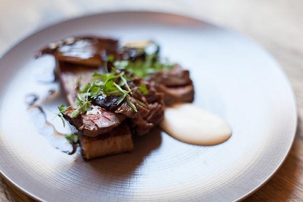 Beef Onglet, 64 Degrees, Brighton Restaurant