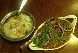 Chaula's Indian restaurant, curry house, Brighton, food review