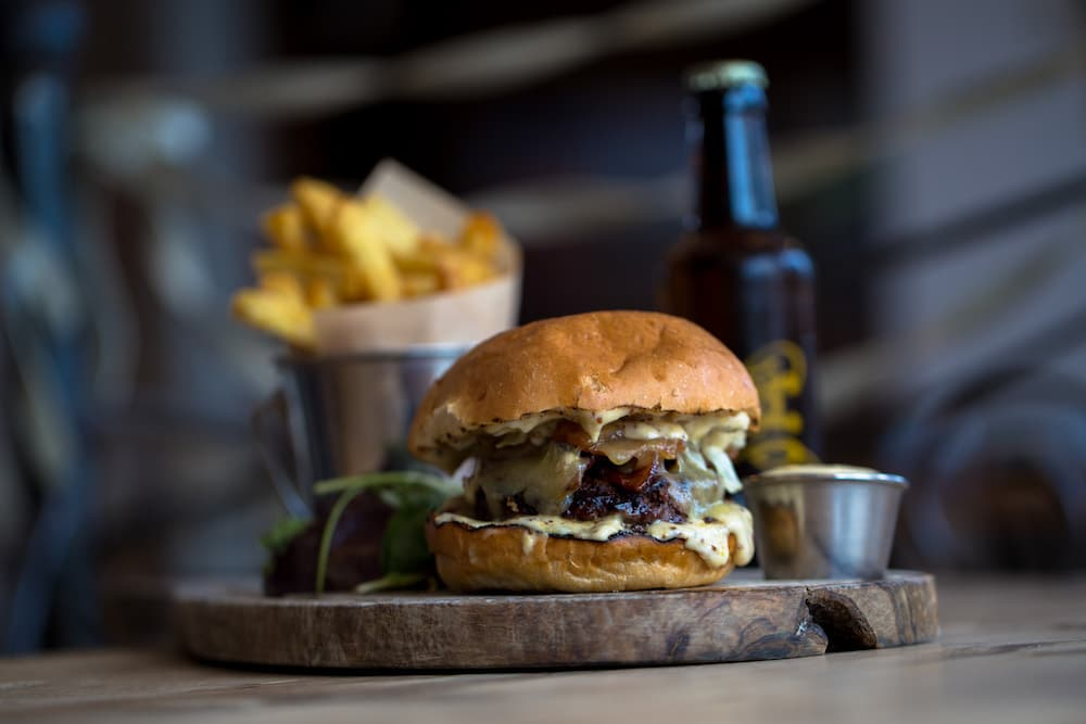 Coggings and Co Burger - frequently voted 'Brighton's Best Burger' alongside Burger Brothers - Burgers Brighton