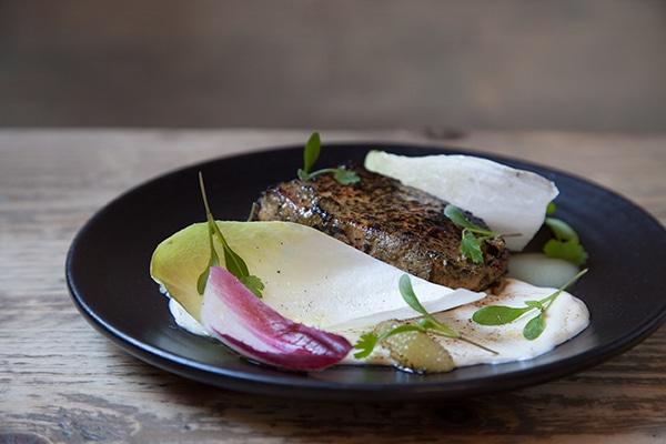 Jerk Salmon, 64 Degrees, Brighton Restaurant