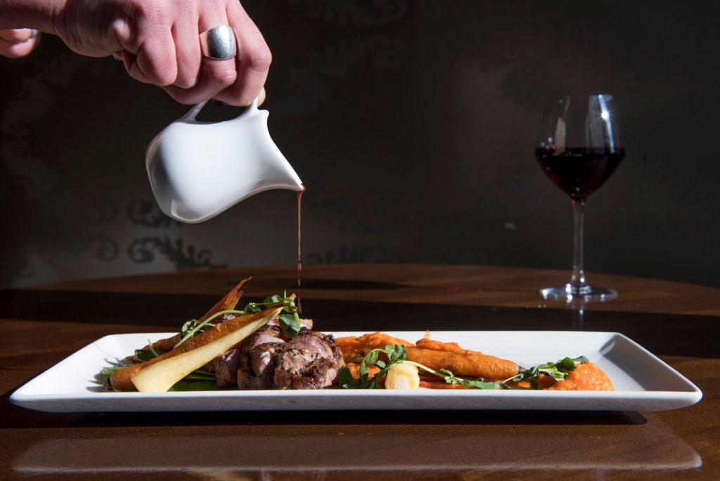 Steak at Chambers Bistro Restaurants Brighton