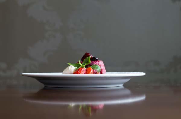 Fruit dessert or pudding