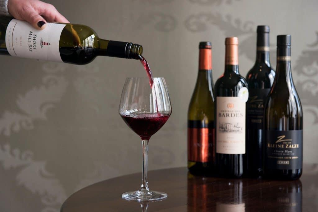 Wine at Chambers Bistro Restaurants Brighton