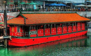 Brighton Marina Restaurant, Pagoda, Floating