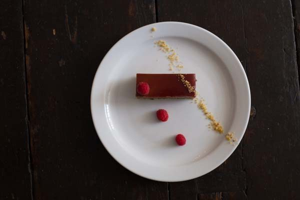 Chocolate Dessert from above