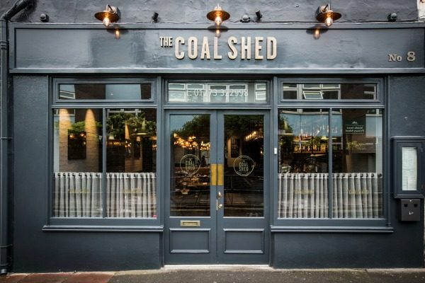 Front of the Coal Shed Brighton