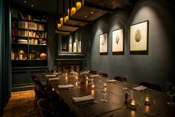 Private dining room at The Coal Shed Brighton