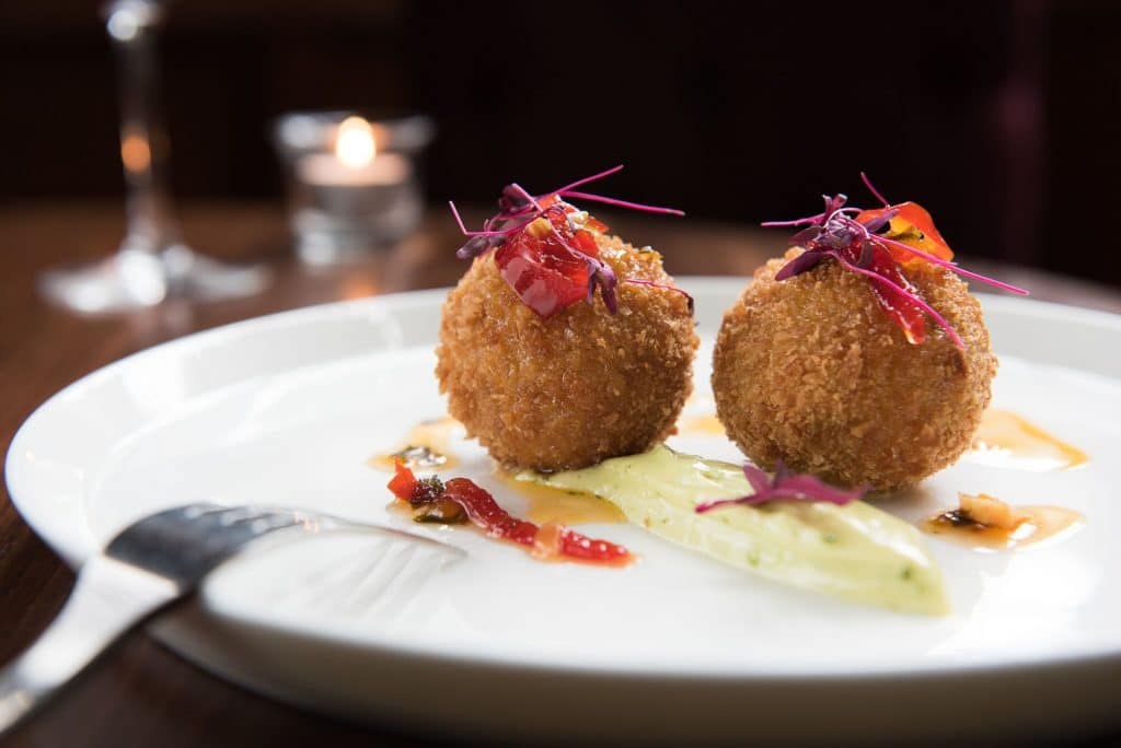 Croquettes at Hove Place Restaurants Brighton
