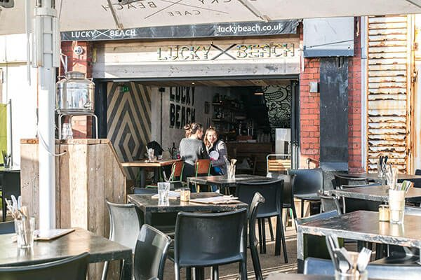 Lucky Beach, Dog friendly pubs Brighton