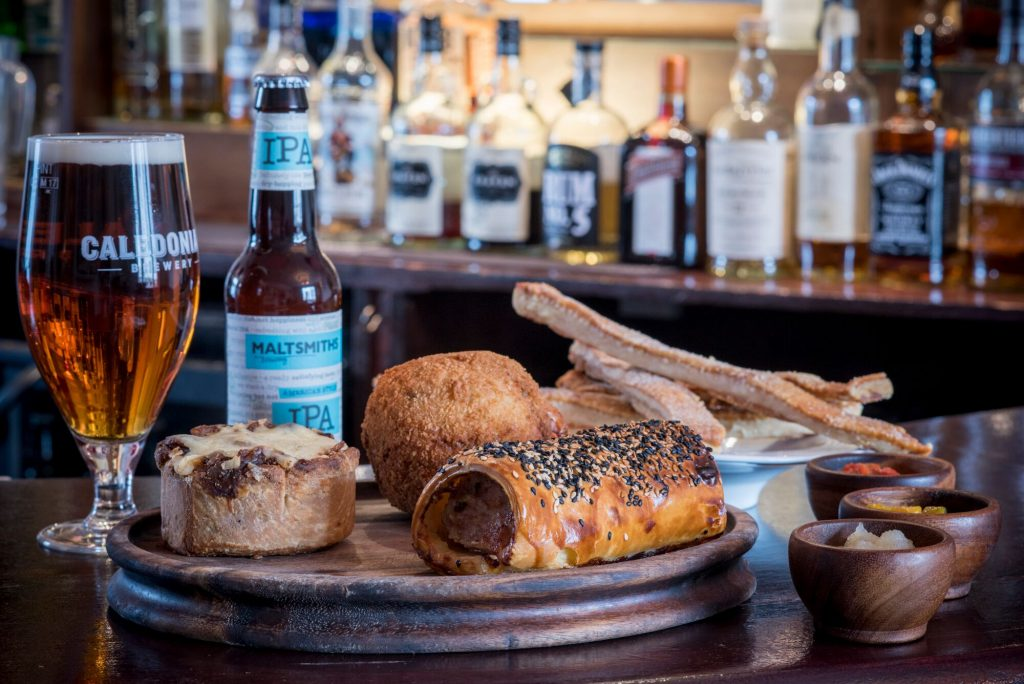 Brighton Pubs- Food at The Cricketers Restaurants Brighton