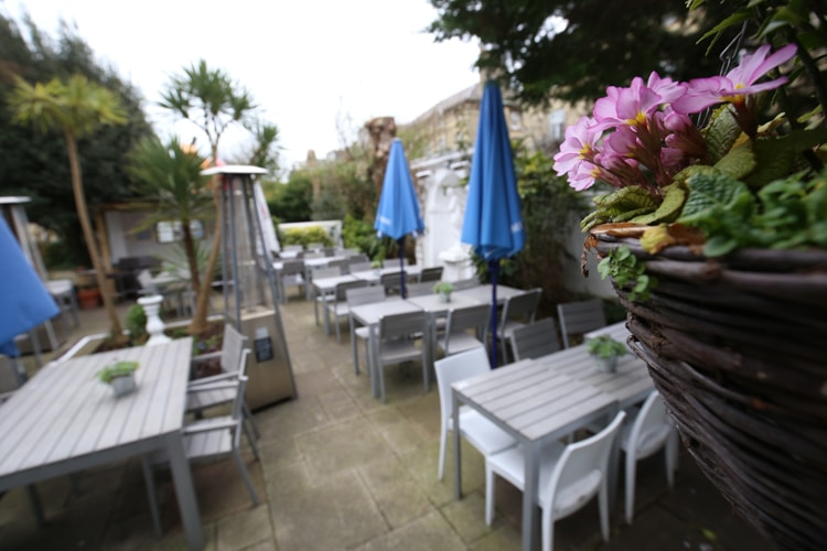 Hove Place Gardens. Dog friendly pubs brighton and hove