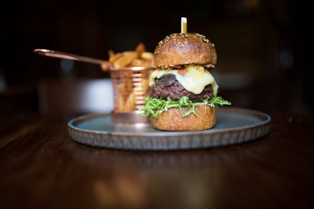 Burger - Hove Place Bistro and Gardens - Burgers Brighton