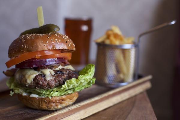 The Cricketers, food pub, Golden lion Group, Black Lion Street, The lanes, Brighton - Burgers Brighton
