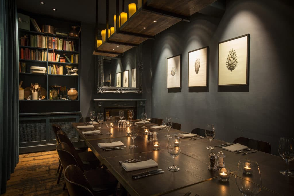 The Coal Shed private dining