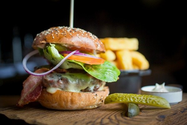 Steak Burger at The Coal Shed 2016