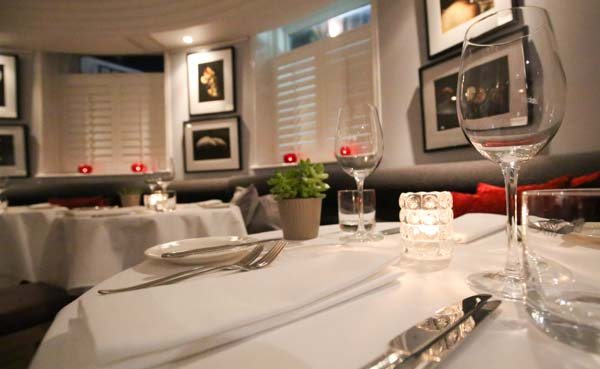Dining room, The Drakes Hotel, Brighton