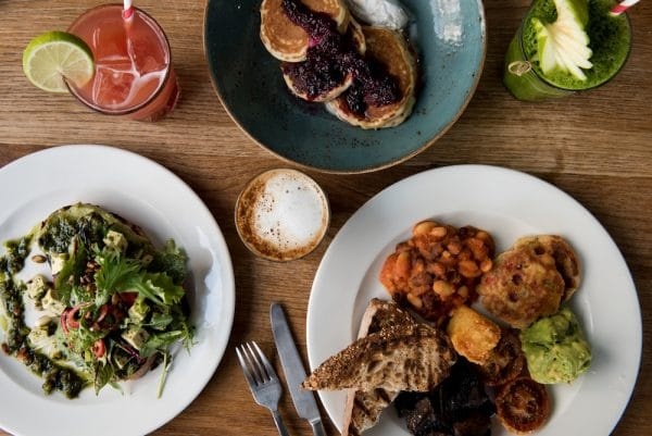 Breakfast at The New Club Brighton