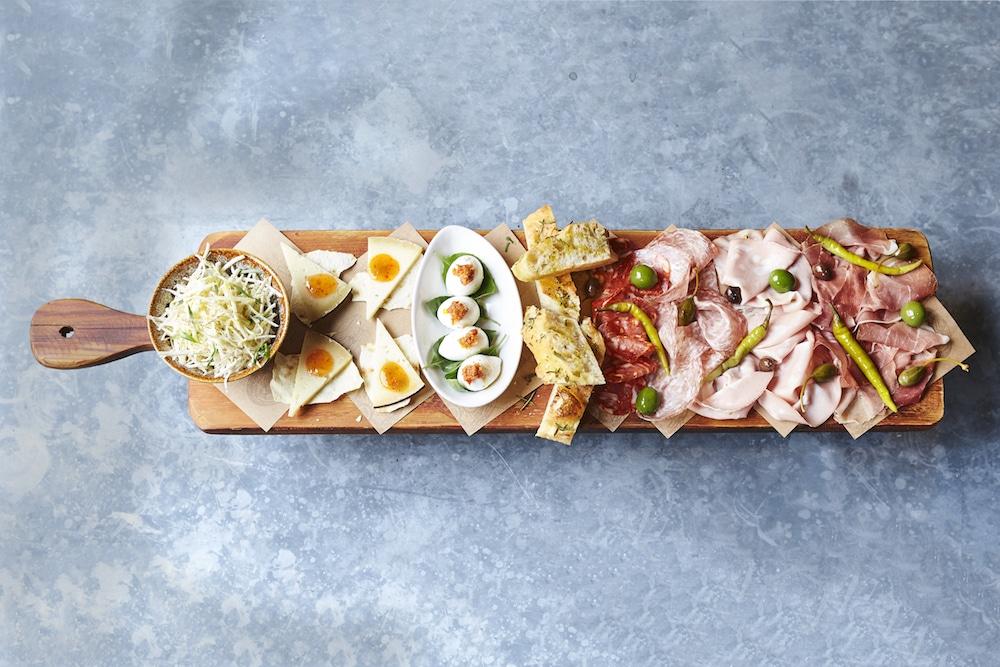 Jamie Oliver Brighton - Sharing plank