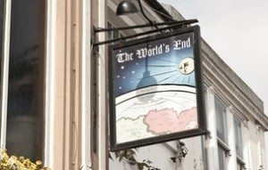 The Worlds End, London Rd, Pub, Brighton, Bar-B-Q Shack