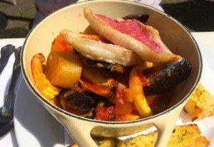 House bouillabaisse