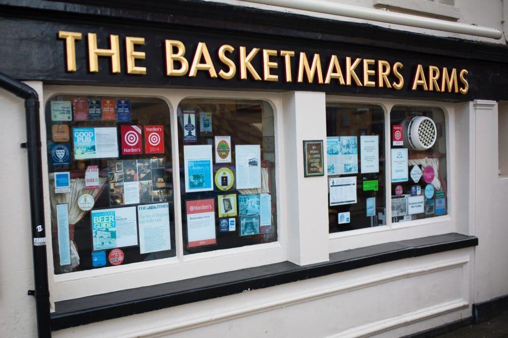 the Basket Makers Pub Brighton