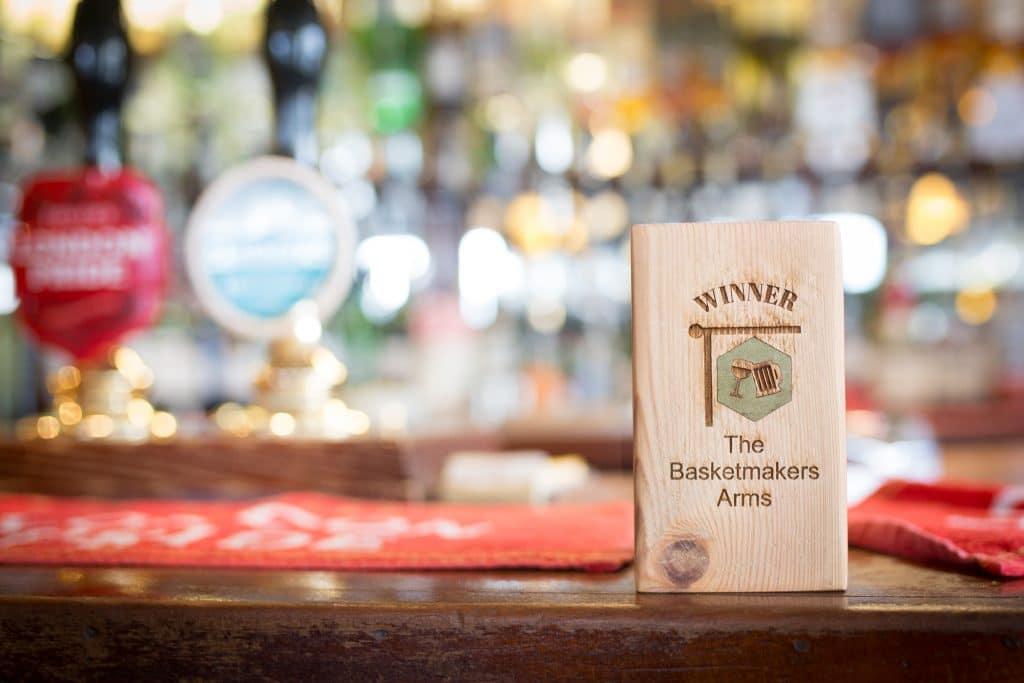 the Basket Makers Pub Brighton - BRAVO awards