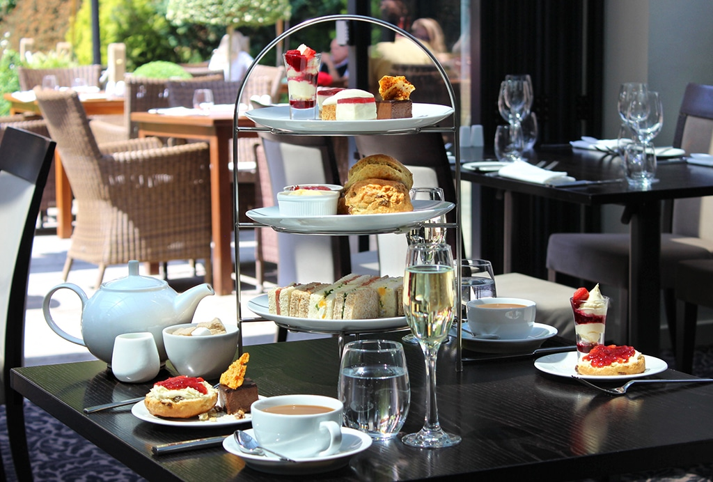 Afternoon Tea at The Glasshouse Brighton - things to do in brighton