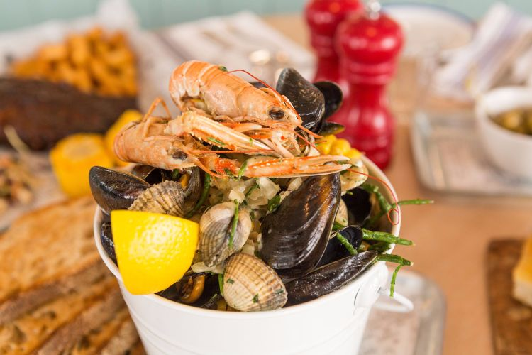 West Beach Bar and Kitchen, Brighton Seafood