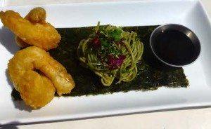king prawn tempura