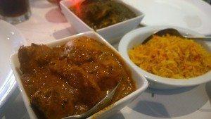Eastern Eye Indian Restaurant, Brighton, Gluten free curry