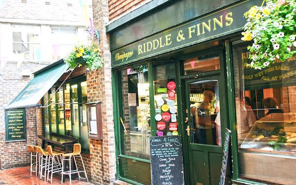 Riddle and Finns, Meeting House Lane, Seafood Restaurant, Brighton