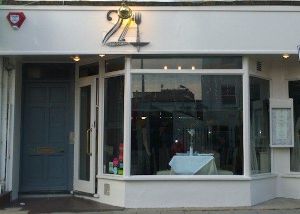 24 St Georges, Kemptown, restaurant, Brighton, gluten free