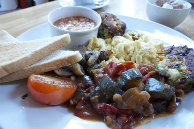 The Best Breakfast in Brighton - Breakfast, Coach House, Brighton. Middle Street
