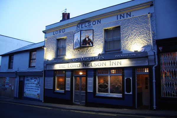 The Lord Nelson Inn, Dog friendly pubs Brighton,