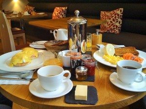 Drakes Hotel, Brighton, Breakfast, restaurant