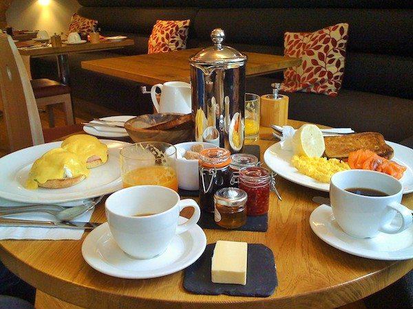 Drakes Hotel, Brighton, Breakfast, restaurant